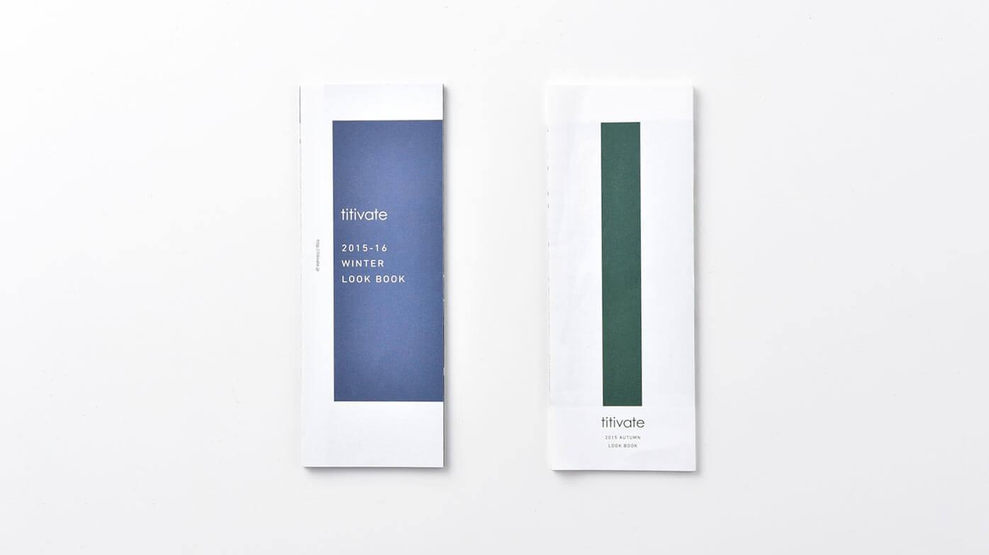 titivate WINTER 01 – AUTUMN 02 LOOK BOOK