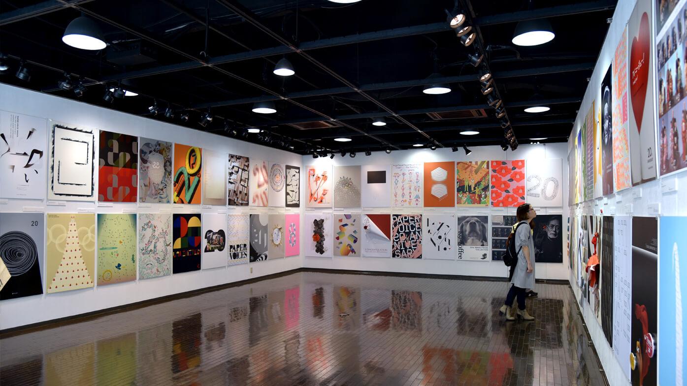 ペーパーボイス大阪20周年記念 ポスター展