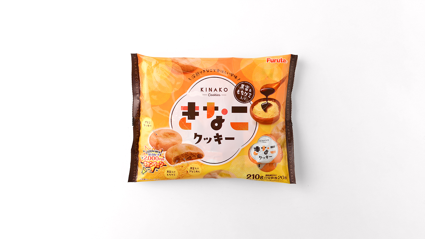 フルタ製菓株式会社 きなこクッキー