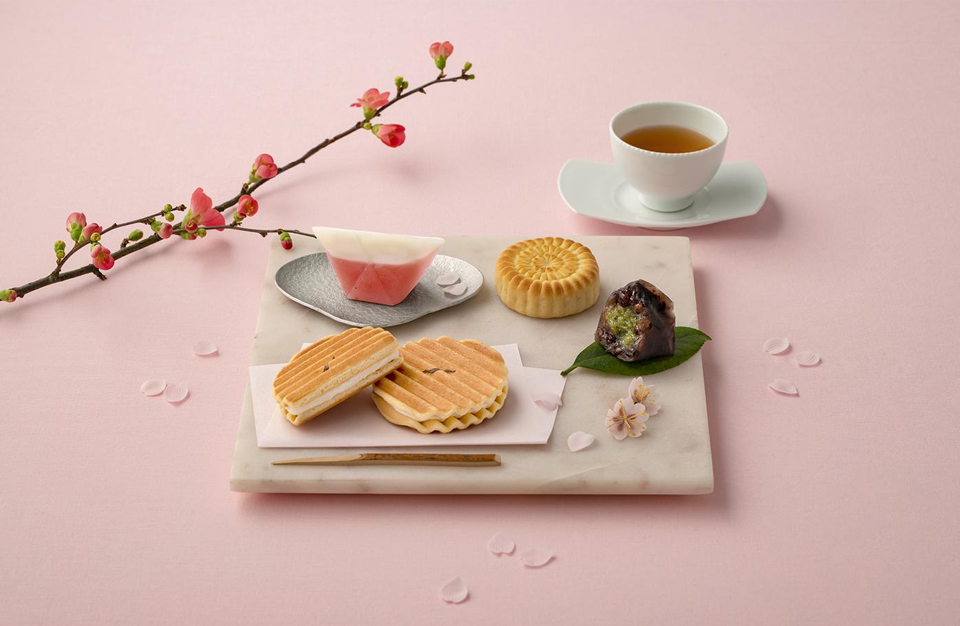 株式会社鼓月 春カタログイメージ